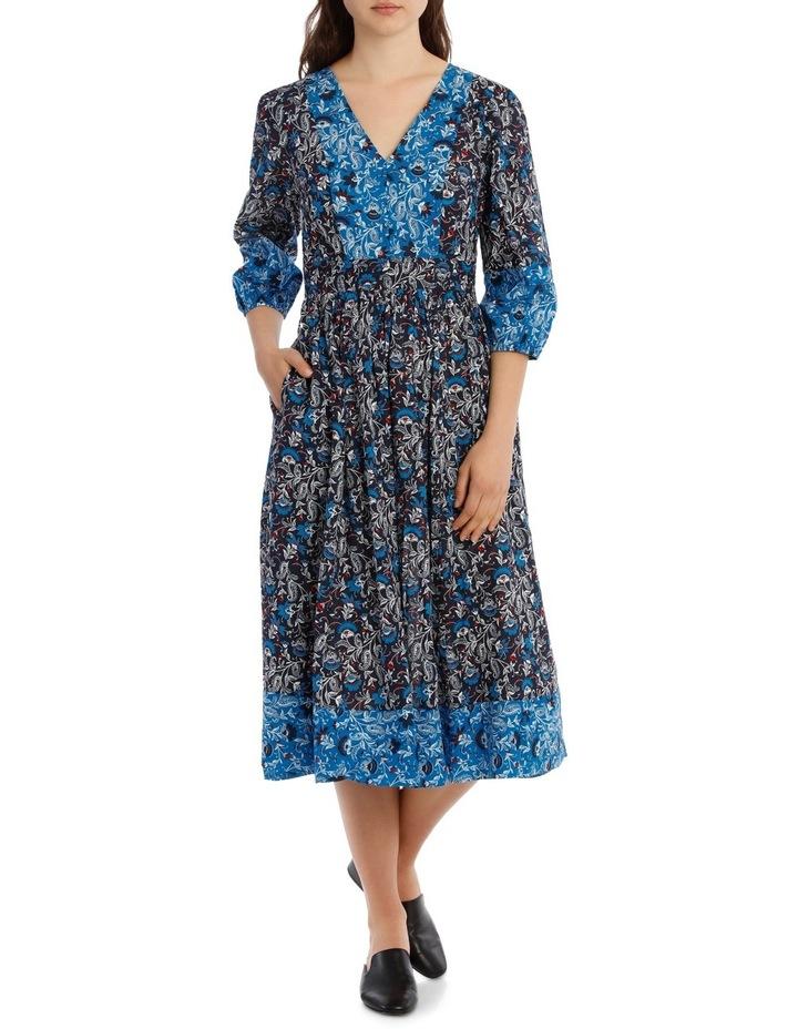 Dress Spliced 3/4 Sleeve image 1