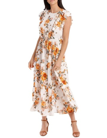 cf2c3033930 Piper PetitesDress With Multi Floral Short Sleeve. Piper Petites Dress With  Multi Floral Short Sleeve