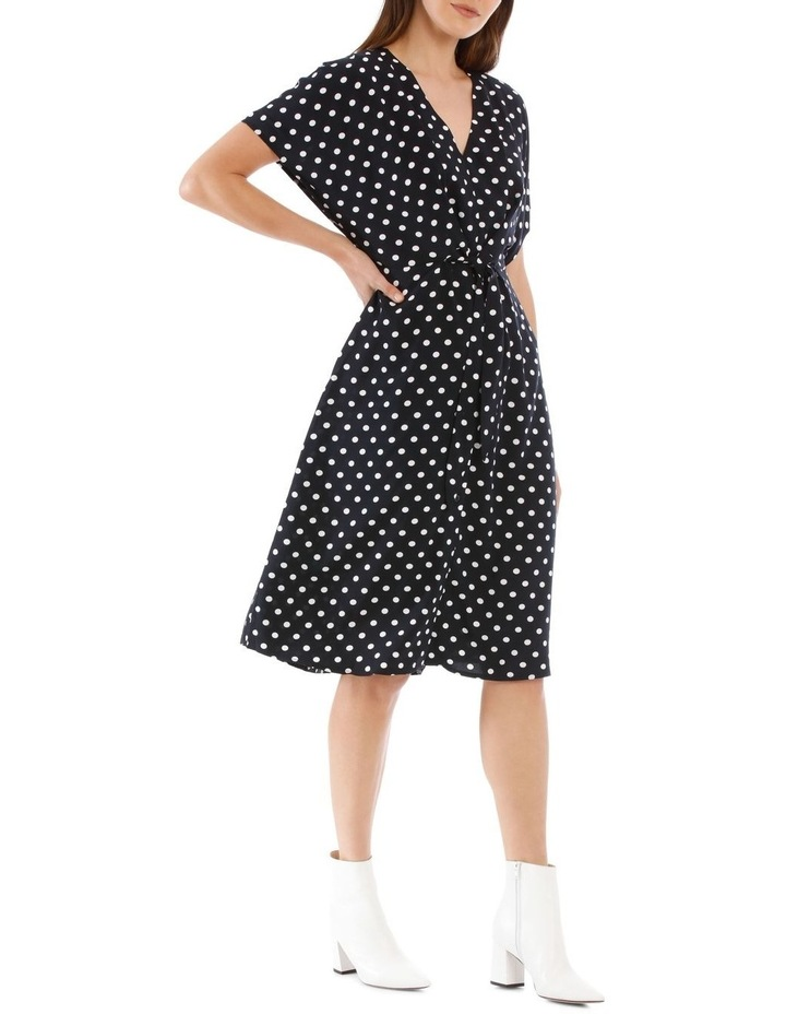 Dress Spot Midi With Buttons image 2