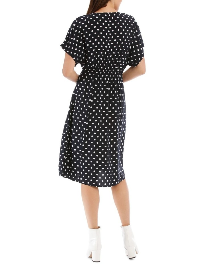 Dress Spot Midi With Buttons image 3