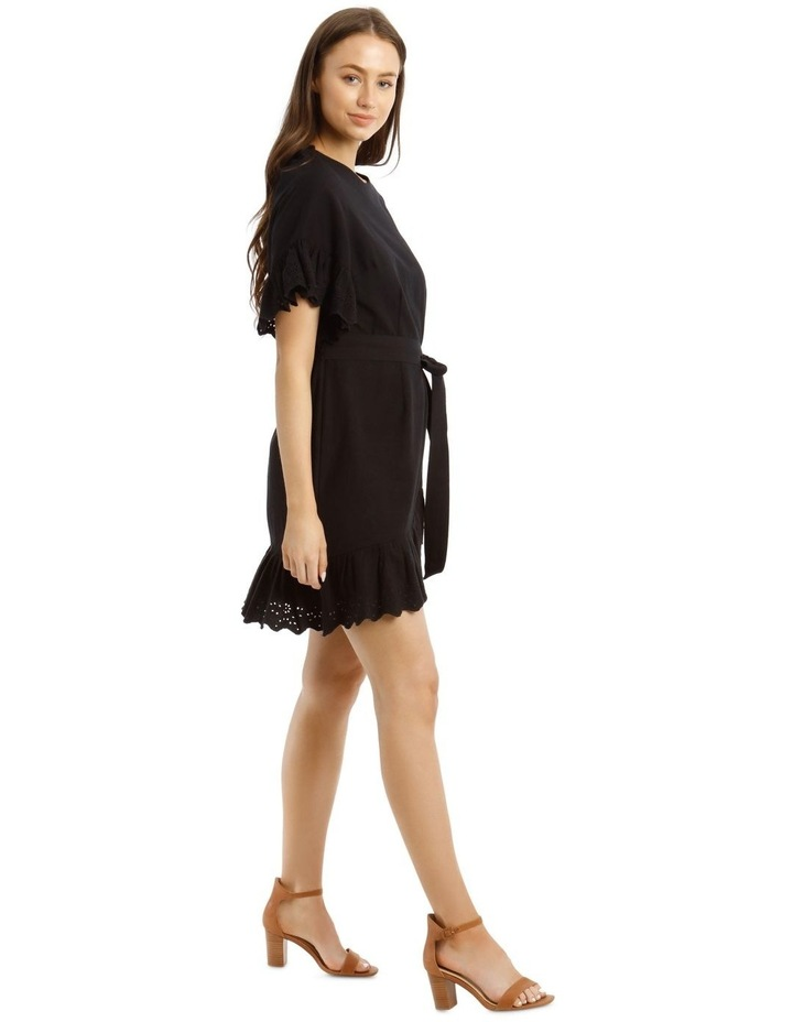 Wrap Dress with Broderie Sleeves image 2