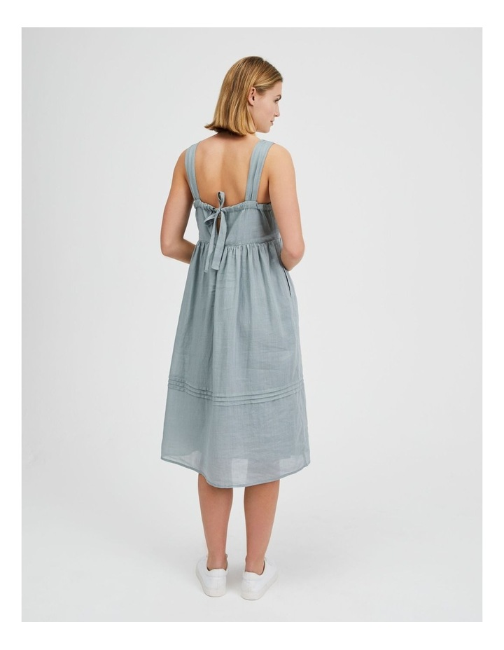 Square Neck Bow Back Dress image 3
