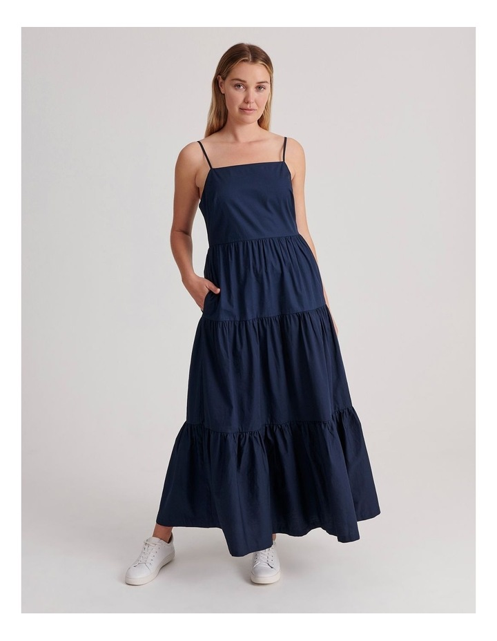 Cotton Tiered Dress image 1