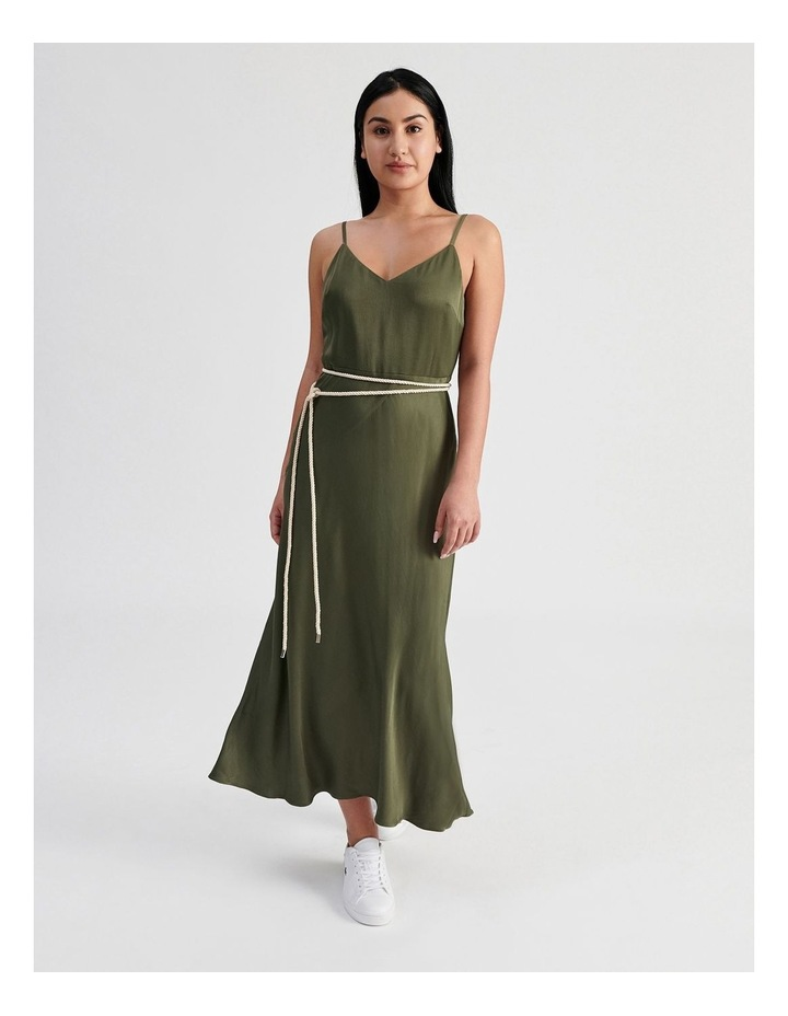 Slip Dress With Rope Tie image 1