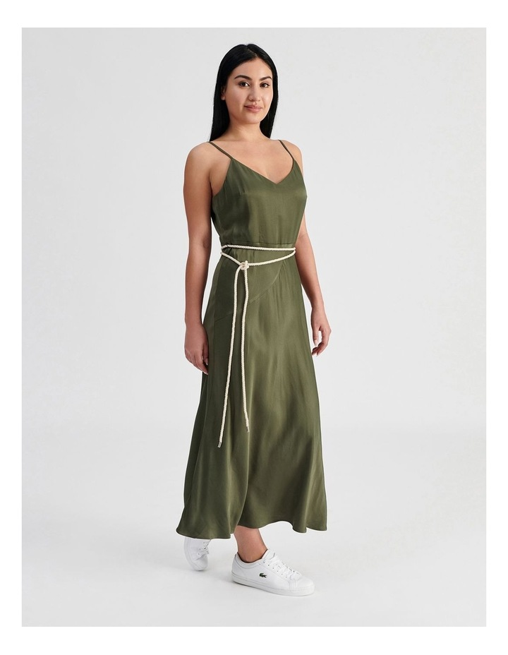 Slip Dress With Rope Tie image 2
