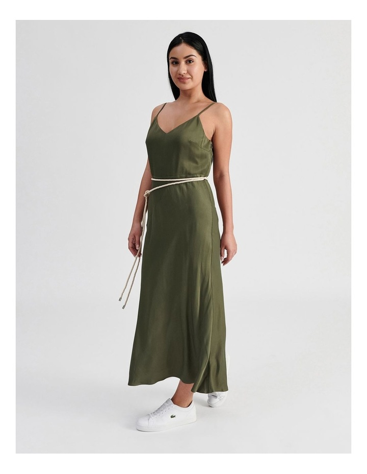 Slip Dress With Rope Tie image 3