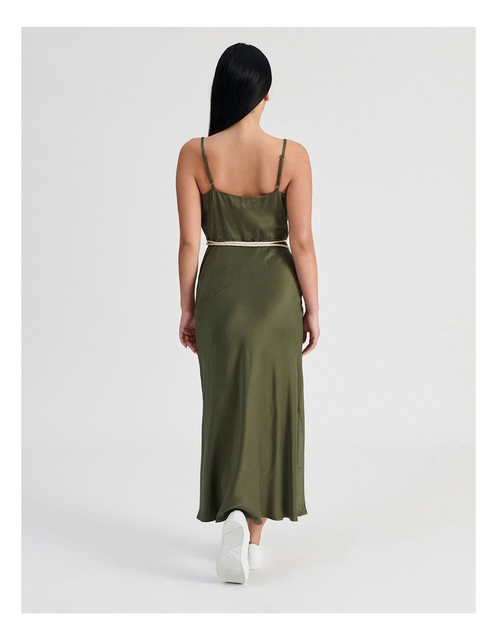 Slip Dress With Rope Tie image 4