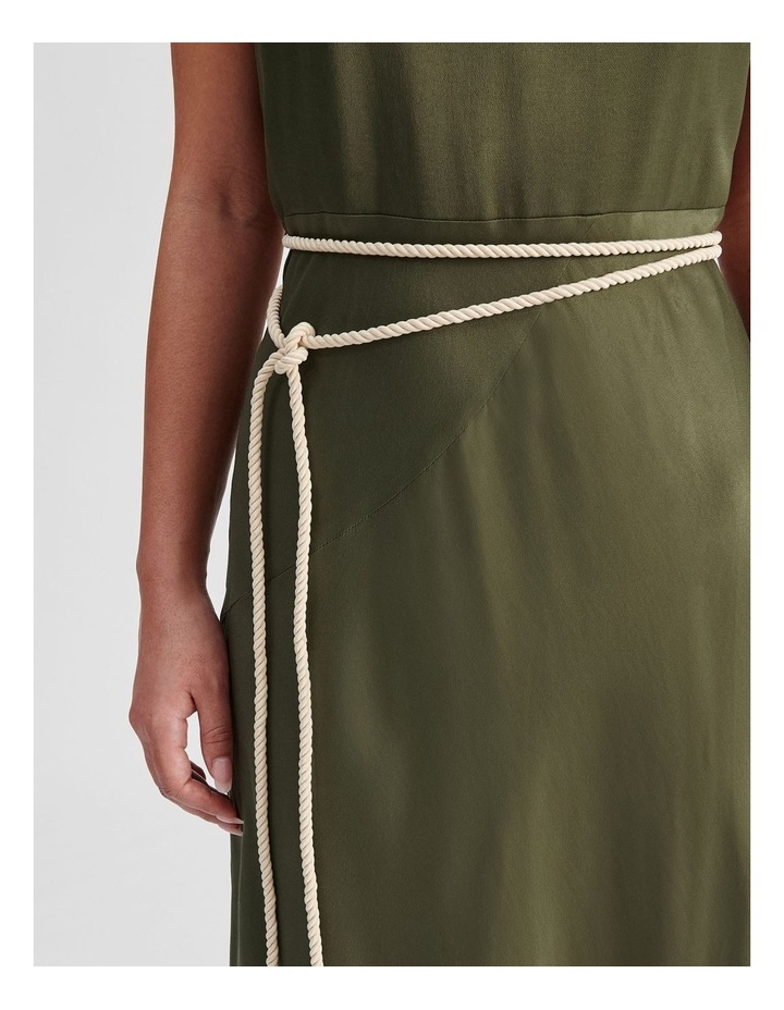 Slip Dress With Rope Tie image 5