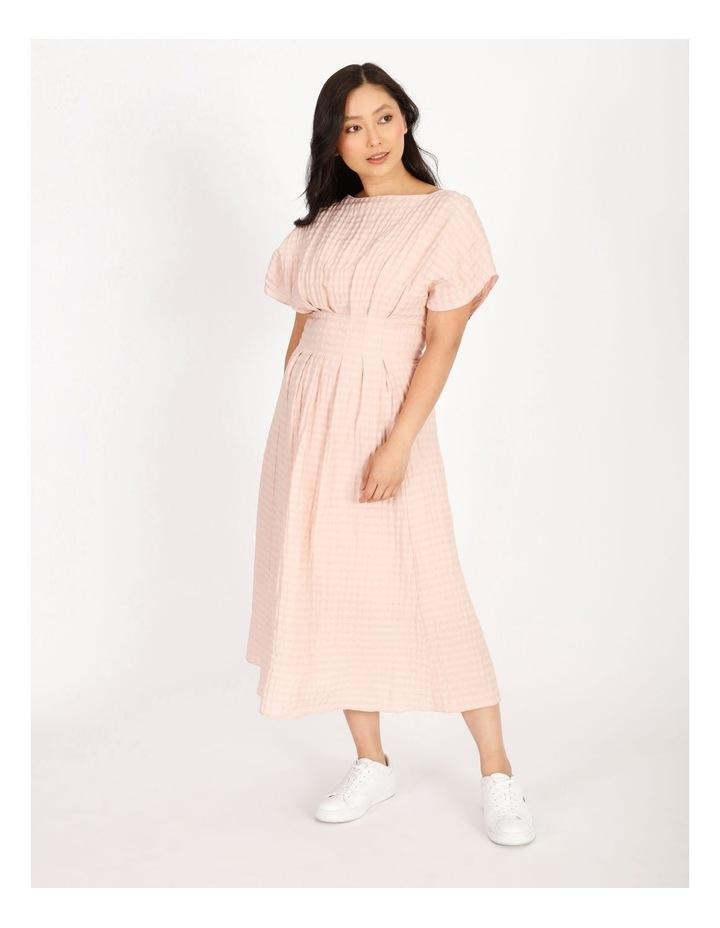 Tuck Waist Midi Dress image 1