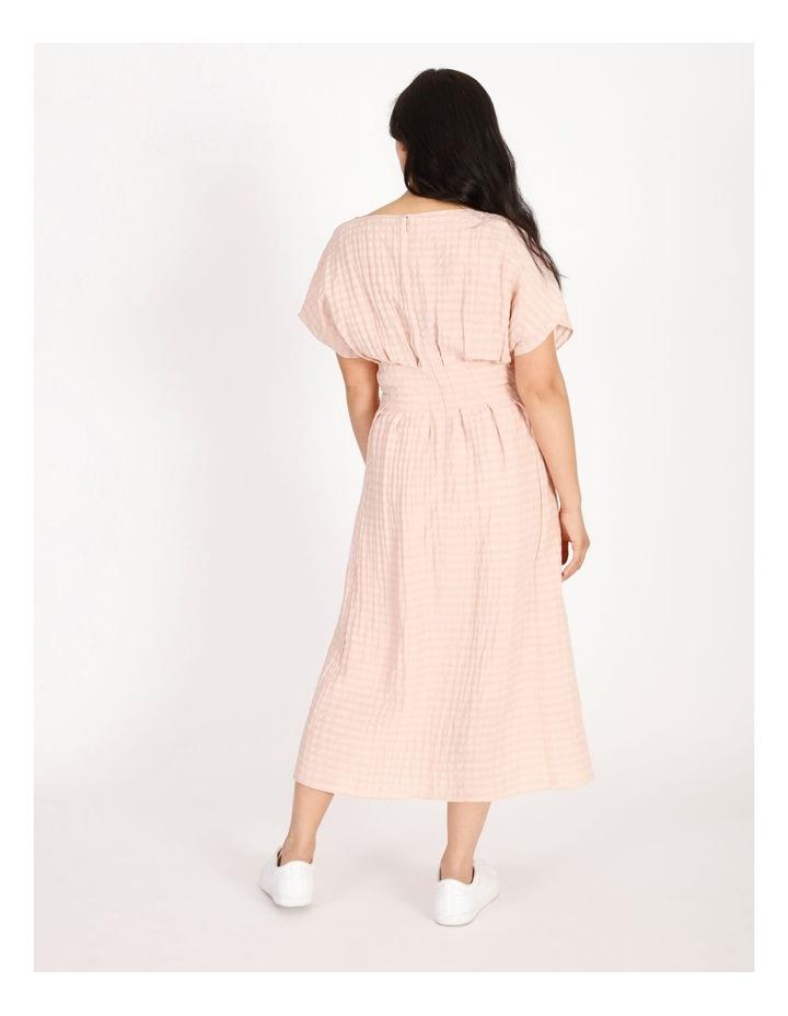 Tuck Waist Midi Dress image 3
