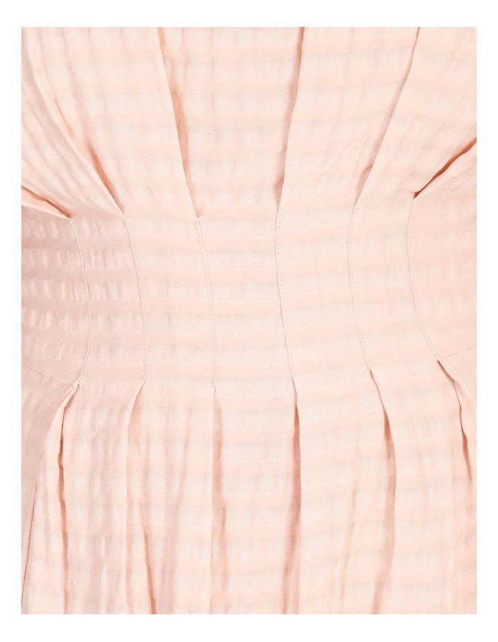 Tuck Waist Midi Dress image 5