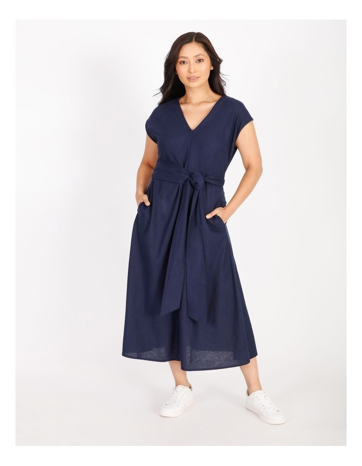 Sleeveless Linen Dress image 1