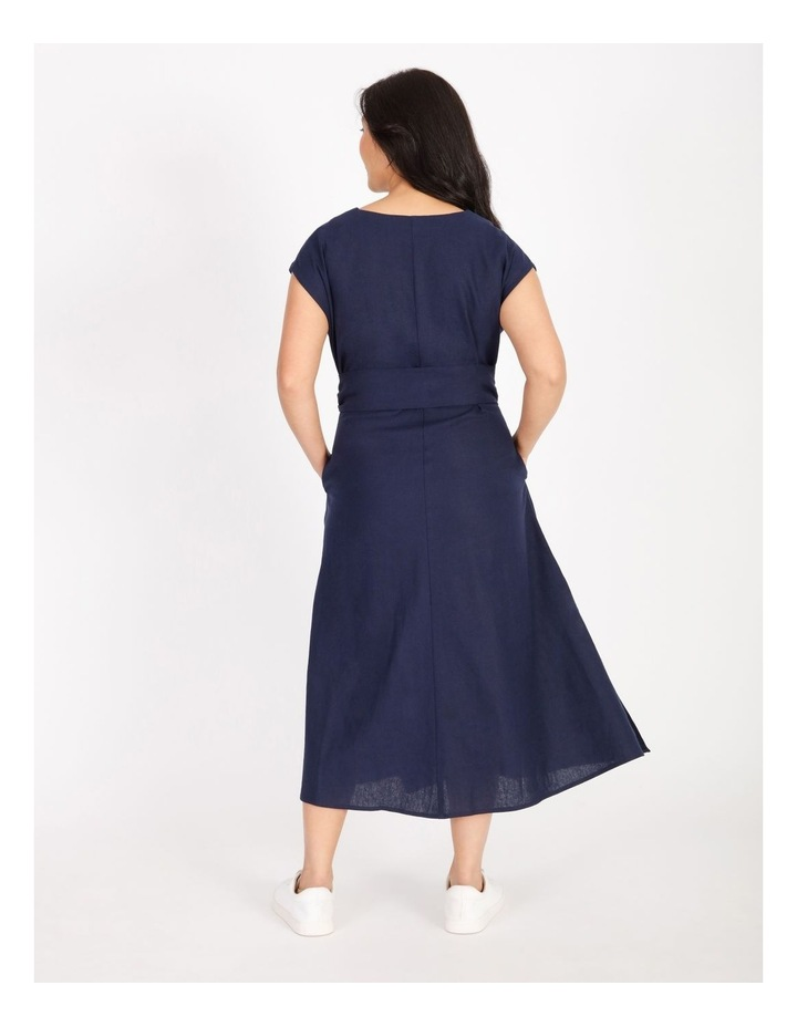 Sleeveless Linen Dress image 3