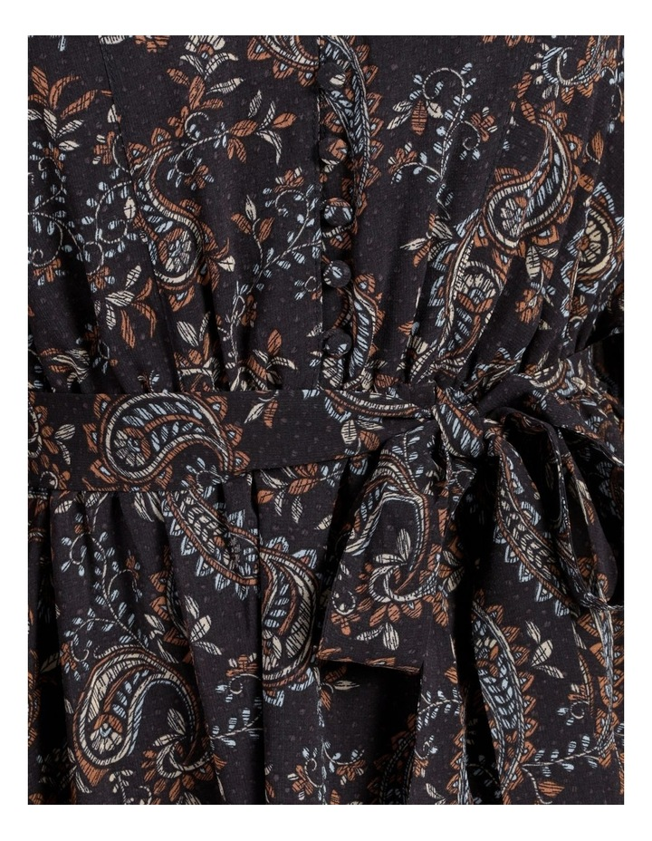 Ditsy Long Sleeve Mini Dress image 6
