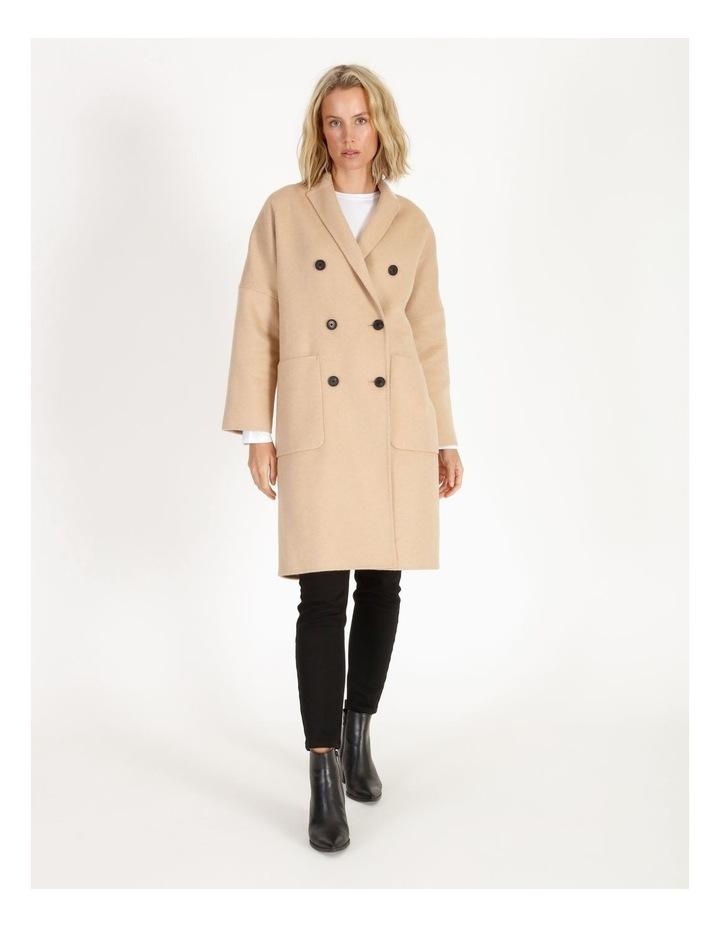 Unlined Wool Coat image 1