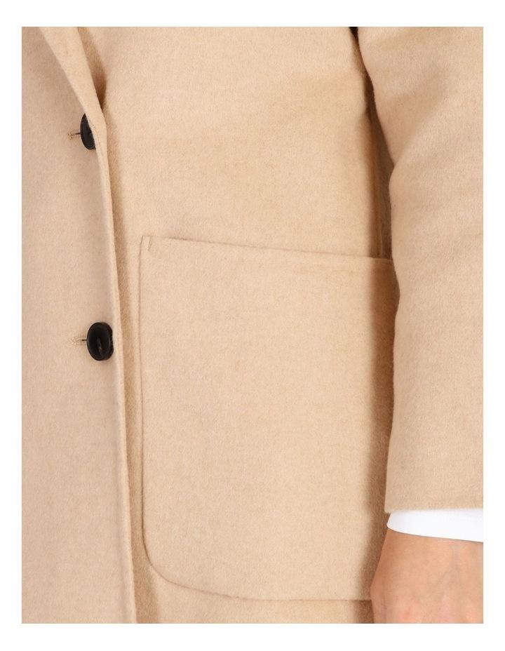 Unlined Wool Coat image 5