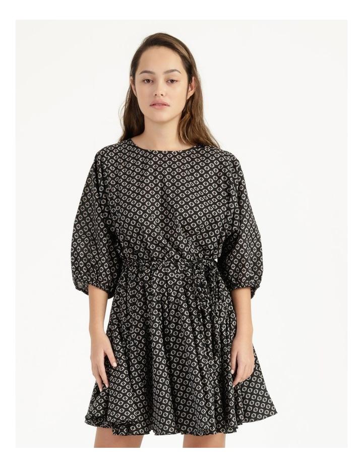 Gusset Mini Dress Woodblock image 1