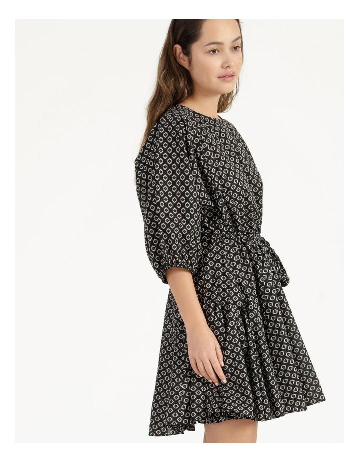 Gusset Mini Dress Woodblock image 2