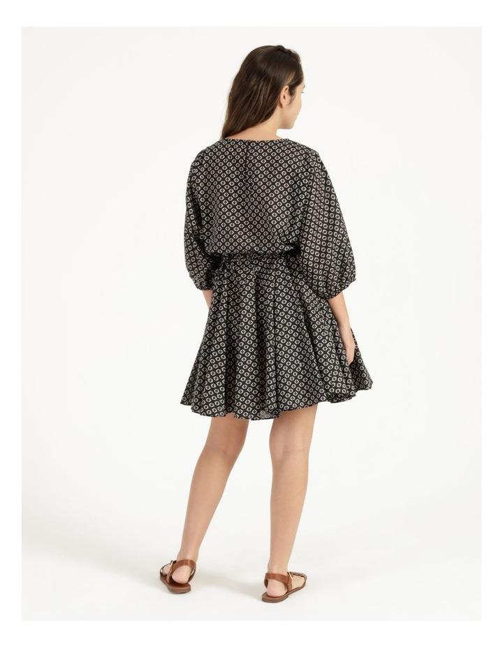 Gusset Mini Dress Woodblock image 3