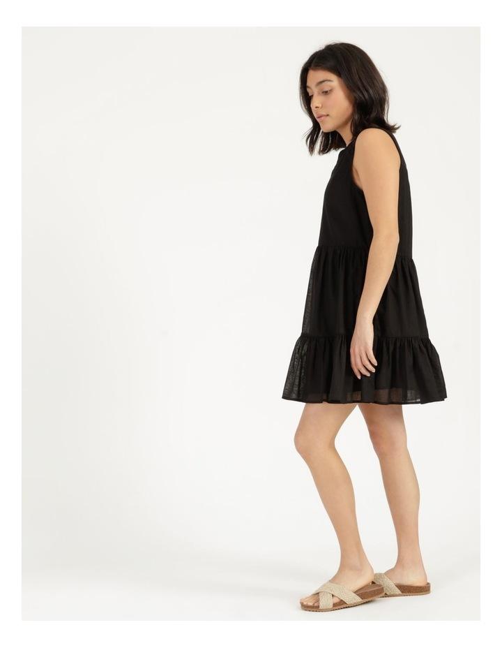 Tiered Button Through Cotton Dress image 4