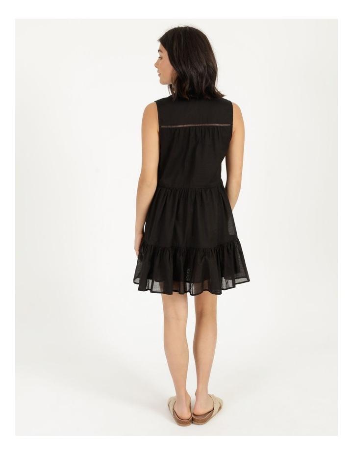 Tiered Button Through Cotton Dress image 5