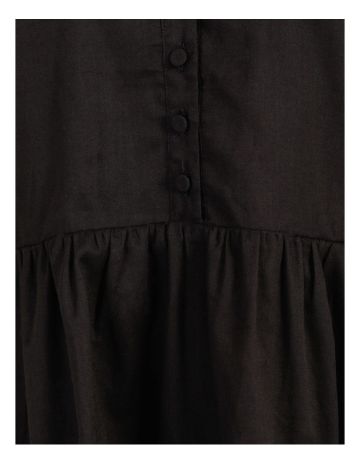 Tiered Button Through Cotton Dress image 7