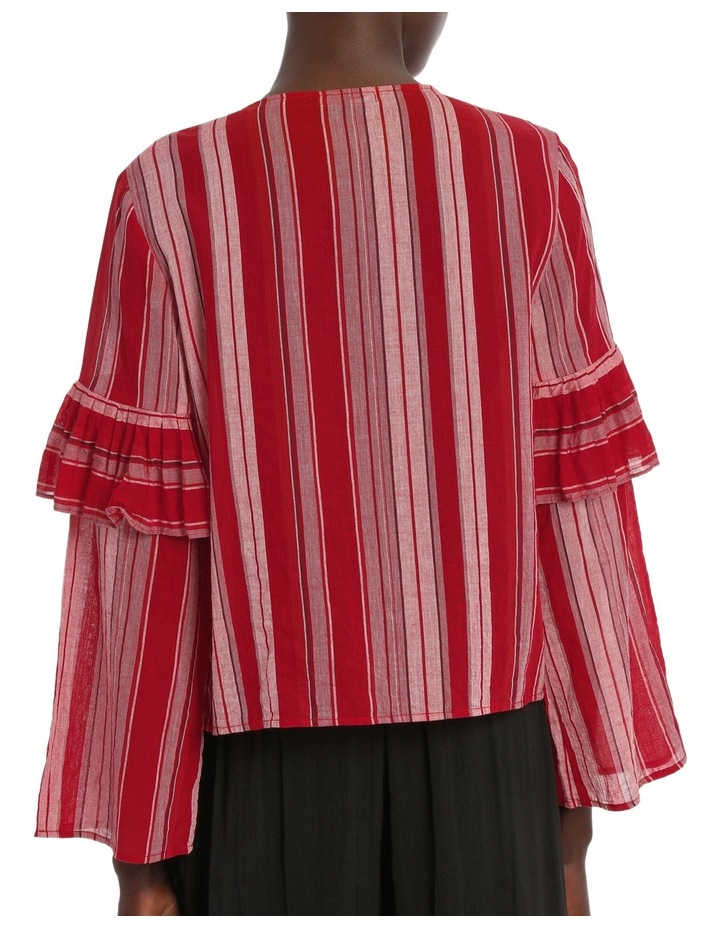 Top Stripe with Ties image 3