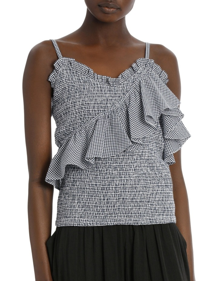 Top Strappy Shirred image 1
