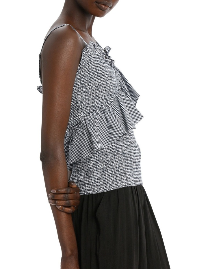 Top Strappy Shirred image 2