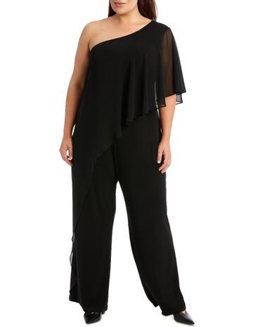 ba376a113856 Wayne Cooper WomanOne Shoulder Ruffle Jumpsuit. Wayne Cooper Woman One  Shoulder Ruffle Jumpsuit