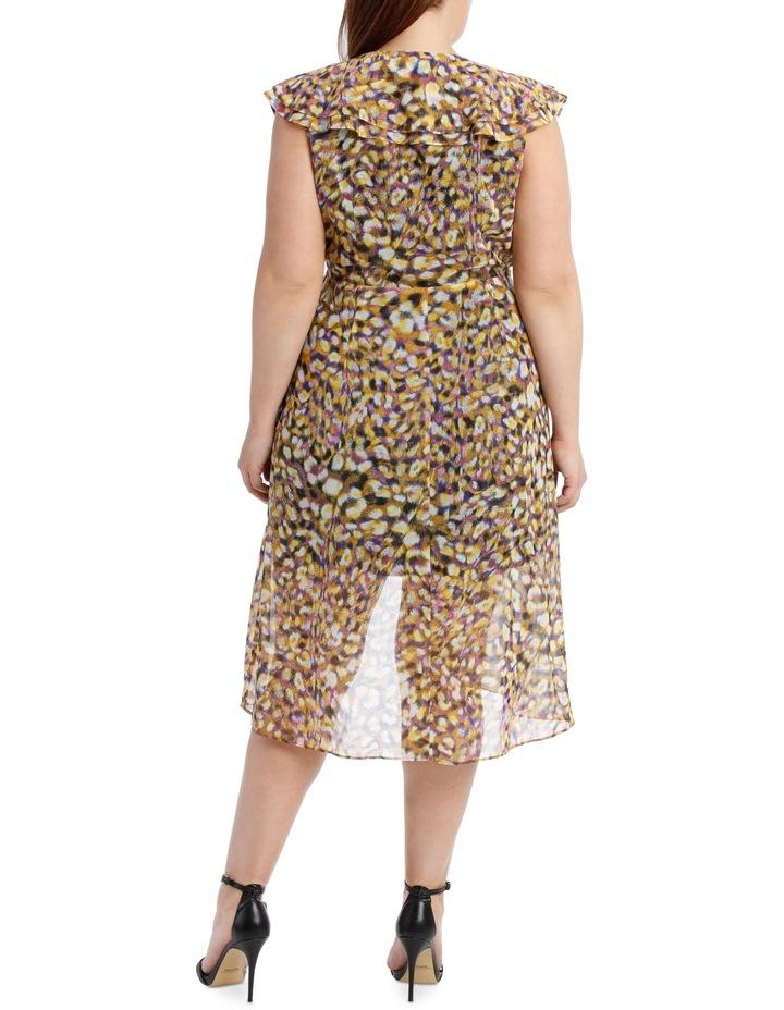 Techno Leopard Frill Dress image 3