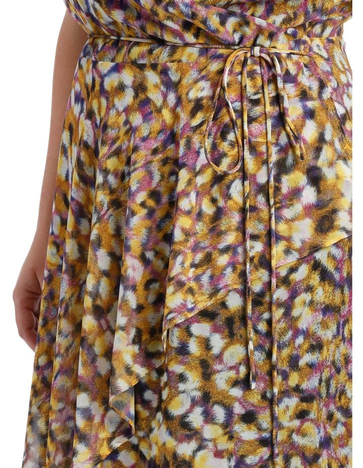 Techno Leopard Frill Dress image 4
