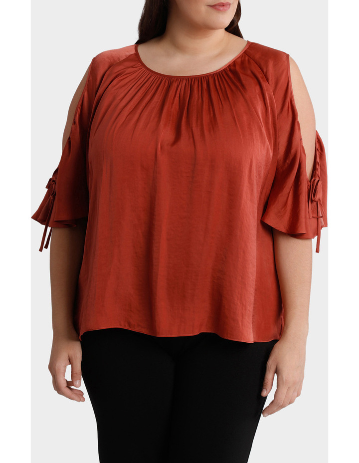Cold Shoulder Top image 2