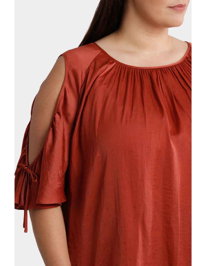 Cold Shoulder Top image 4