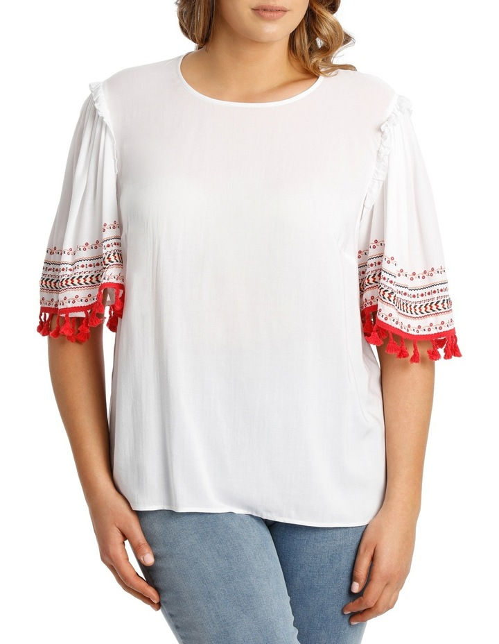 Top Tunic with Embroidery image 1