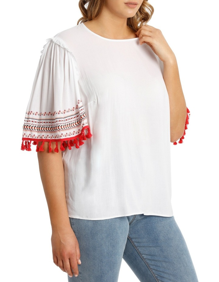Top Tunic with Embroidery image 2