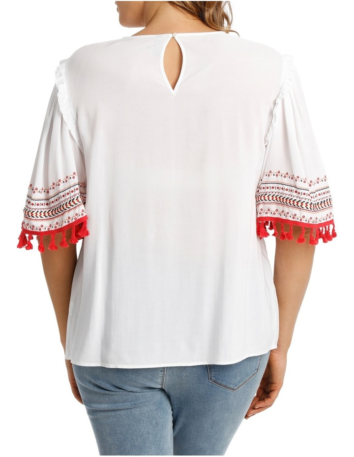 Top Tunic with Embroidery image 3