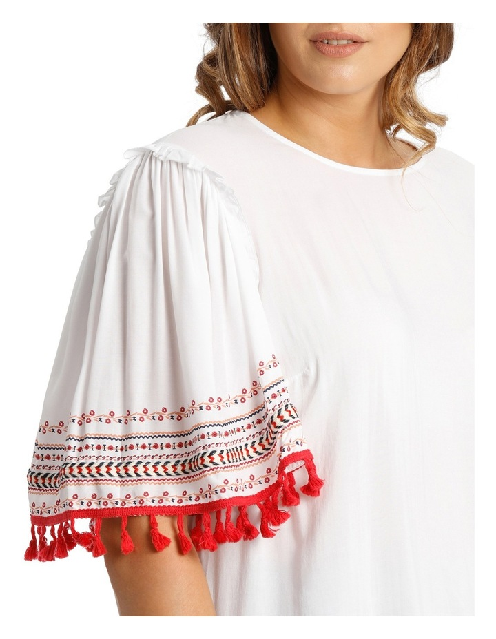 Top Tunic with Embroidery image 4