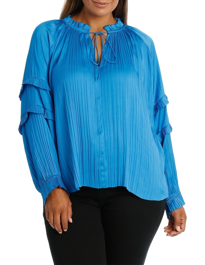 Top Bruised Polyester Ruffles image 1