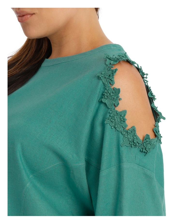 Top with Lace Detail Cold Shoulder image 4