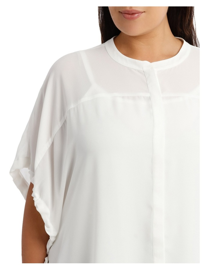 Top Rouched Sleeve image 4
