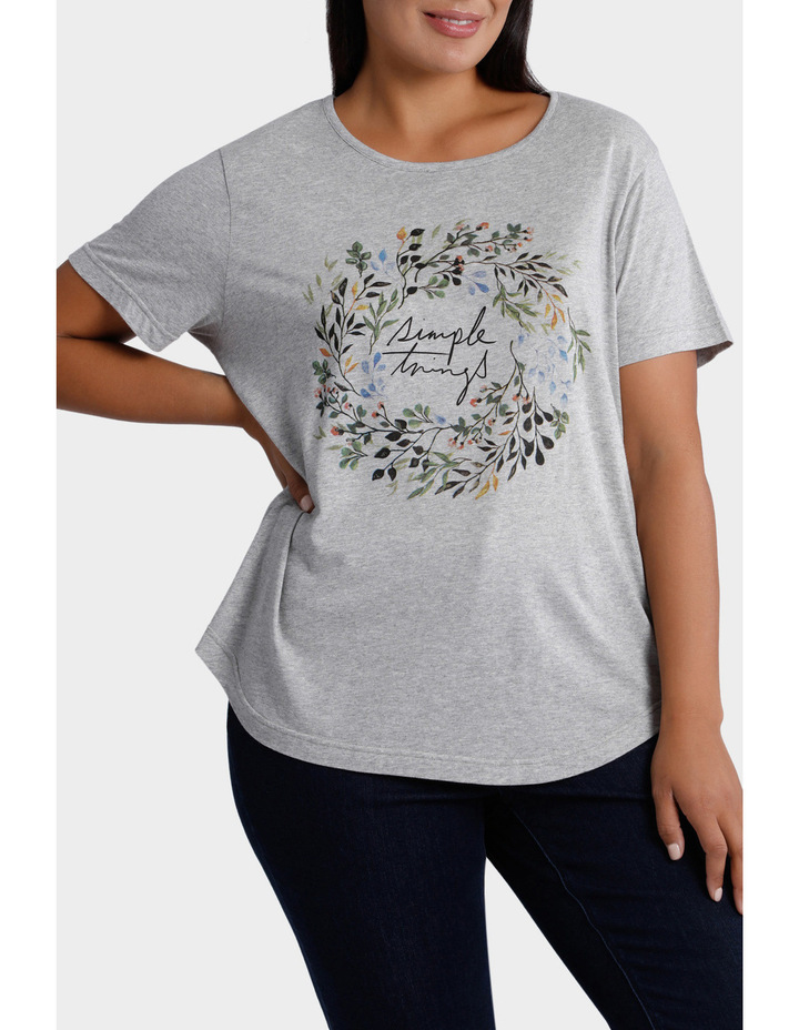 Placement Print Tee image 1