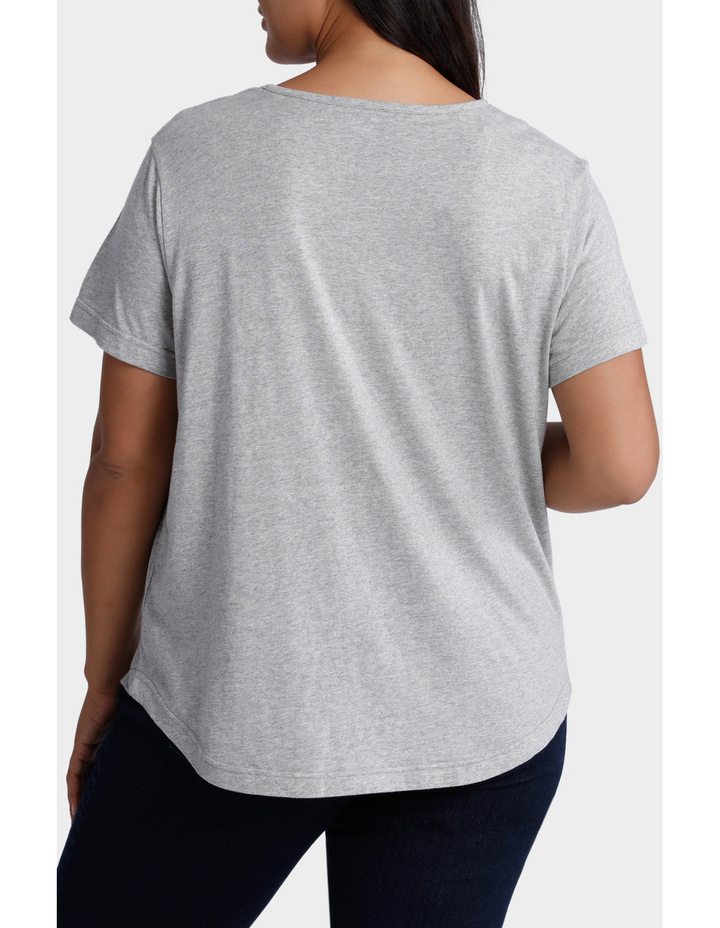 Placement Print Tee image 3