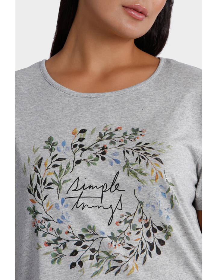Placement Print Tee image 4