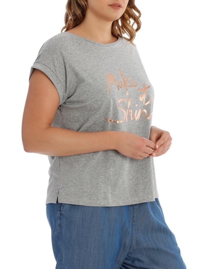 T- Shirt logo - Make it Shine image 2