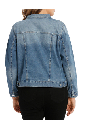 Piper 16-22 - Denim Jacket Short