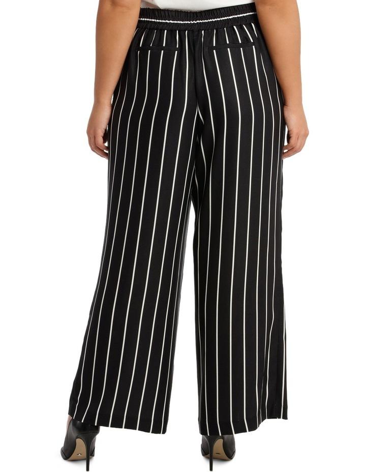 Pant Stripe Wide Leg Elastic Waist image 3