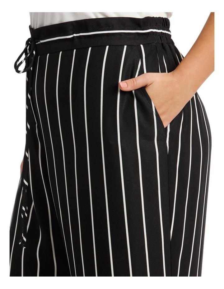 Pant Stripe Wide Leg Elastic Waist image 4