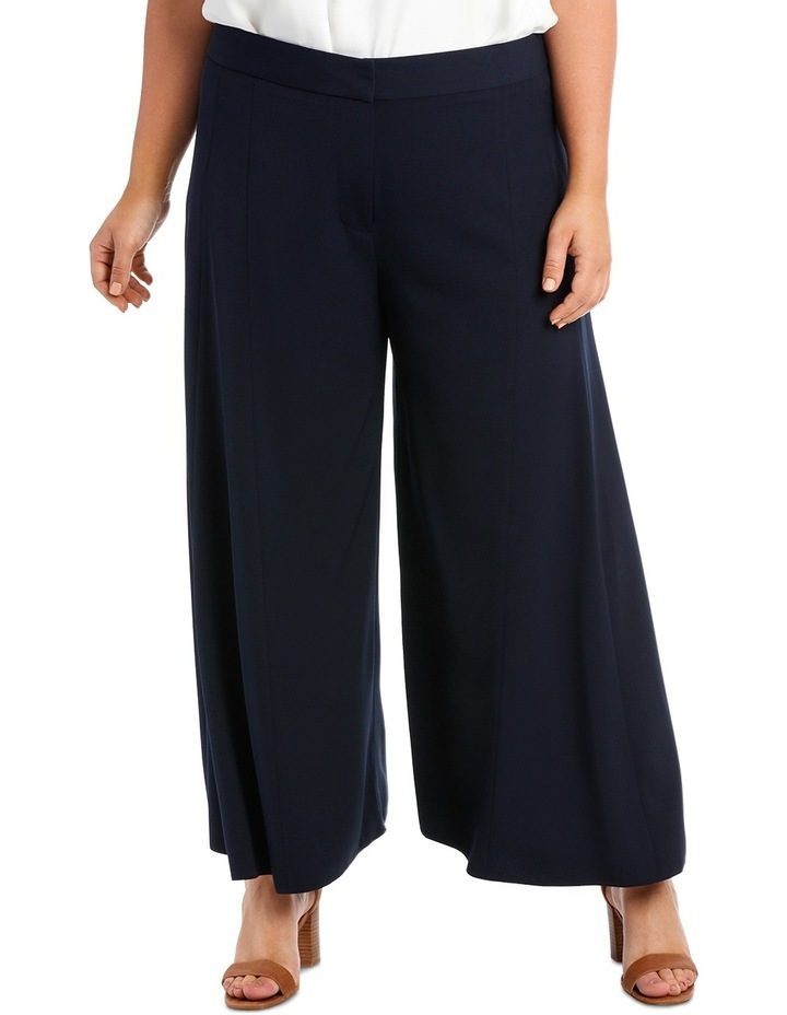 Wide Leg Pant With Front Splits image 1
