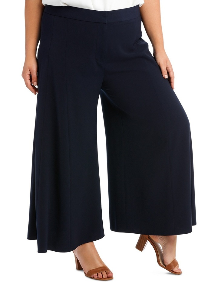 Wide Leg Pant With Front Splits image 3